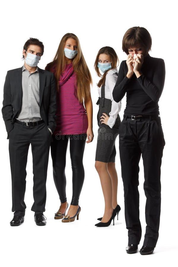 Flu preventive maintenance stock photo