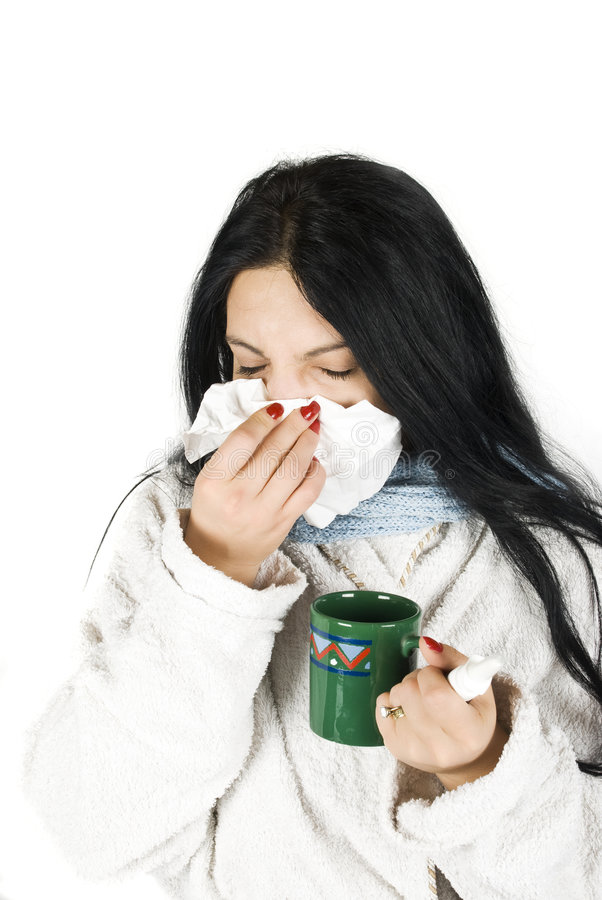Download Flu woman stock photo. Image of allergy, allergies, sick - 7112536
