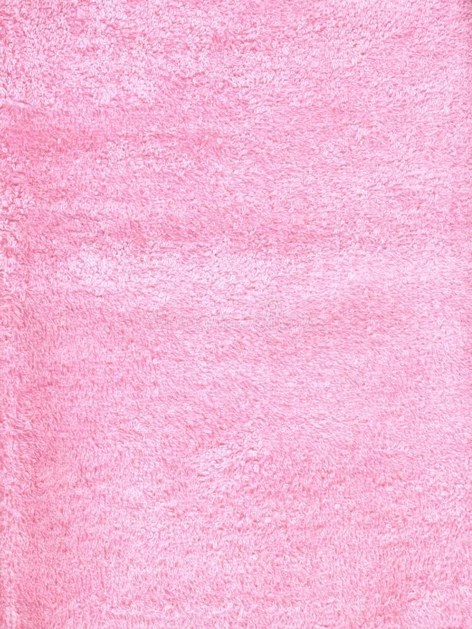 fluffig pink för tyg royaltyfri fotografi