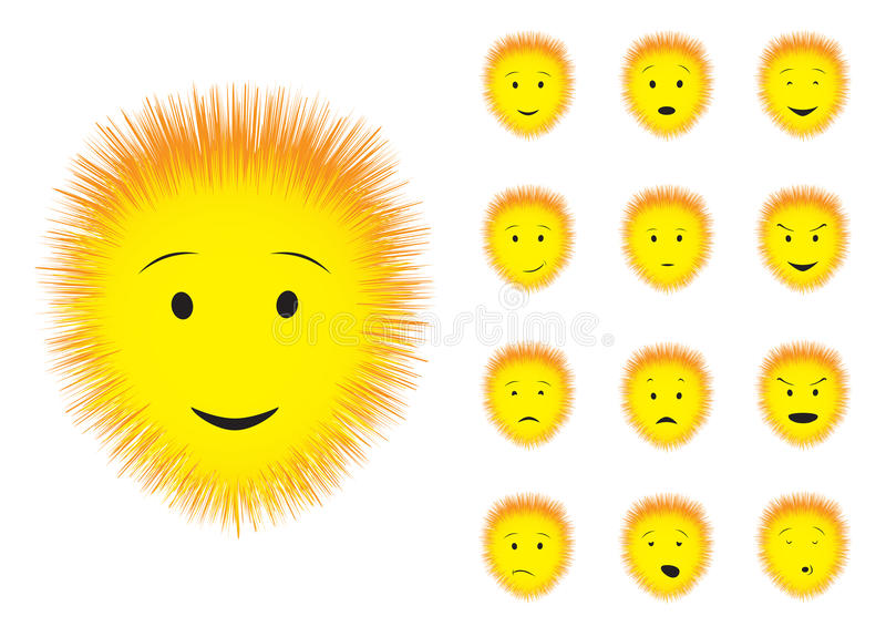 Download Fluffy stock vector. Image of head, chat, express, emotion - 12139679
