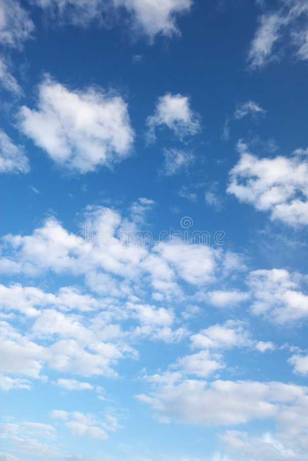 Download Fluffy Clouds Stock Photo - Image: 4441250