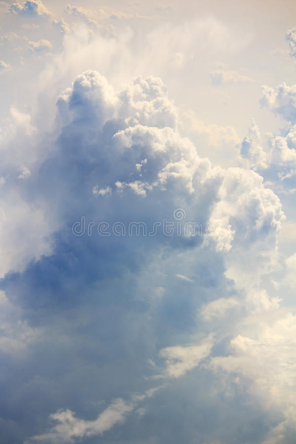 Free Fluffy Clouds Aerial View Royalty Free Stock Image - 89357266