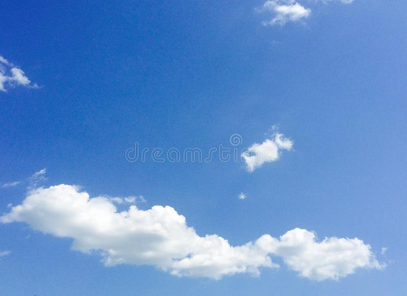 Fluffy Clouds royalty free stock photos