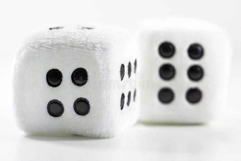Download Fluffy Dice stock photo. Image of fluffy, white, style - 27316240