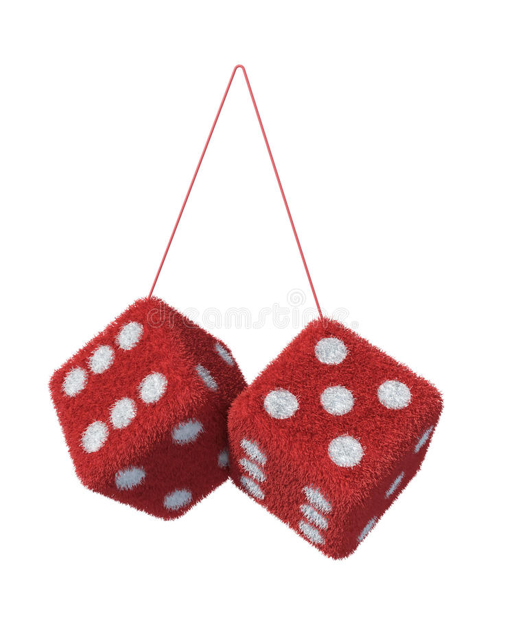 Free Fluffy Fury Dices Stock Images - 15568934