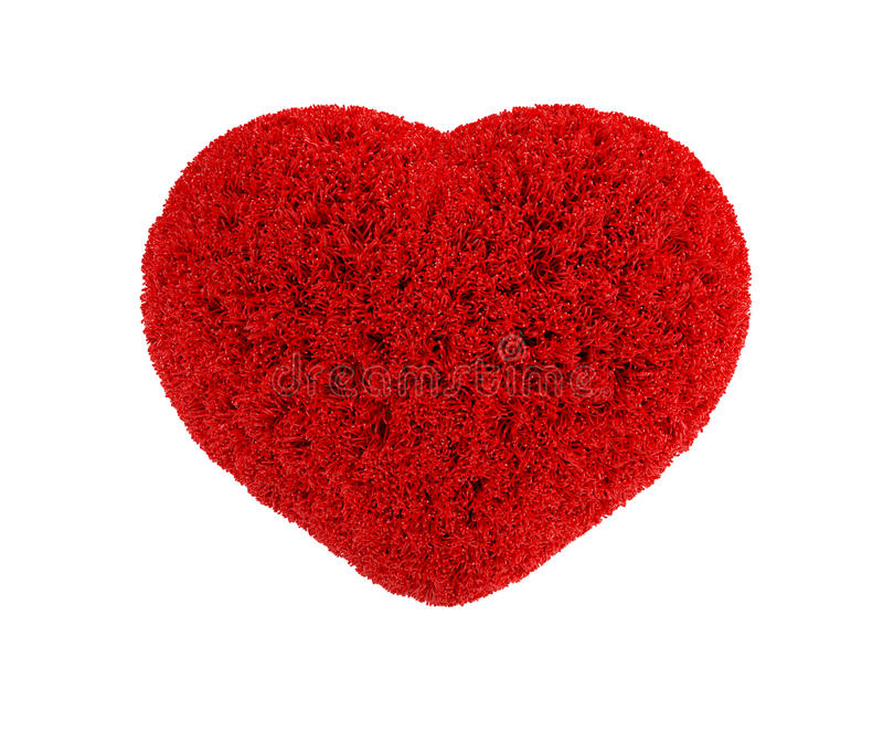 Download Fluffy heart stock illustration. Illustration of shiny - 12636258