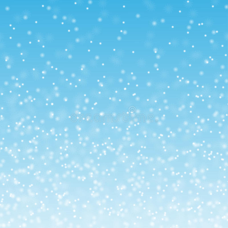 Download Fluffy snow stock vector. Image of snowfall, blue, weather - 33571506