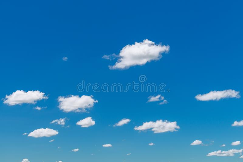 Fluffy and soft cloud on blue sky. Close up of Fluffy and soft cloud on blue sky in suuny day royalty free stock image