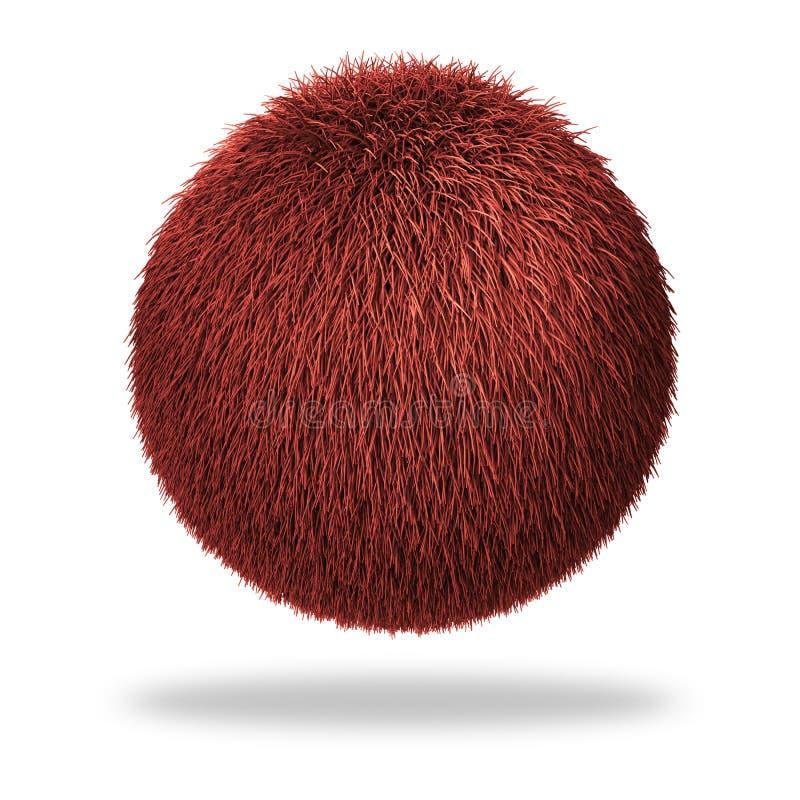 Download Fluffy sphere stock illustration. Illustration of colorful - 9644484