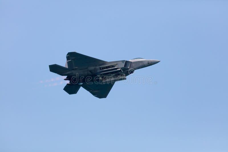 Flug des Erbef-35 stockbild