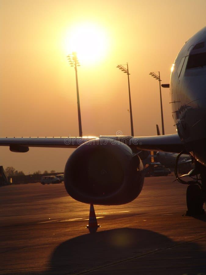 Flughafen 009 stockfoto