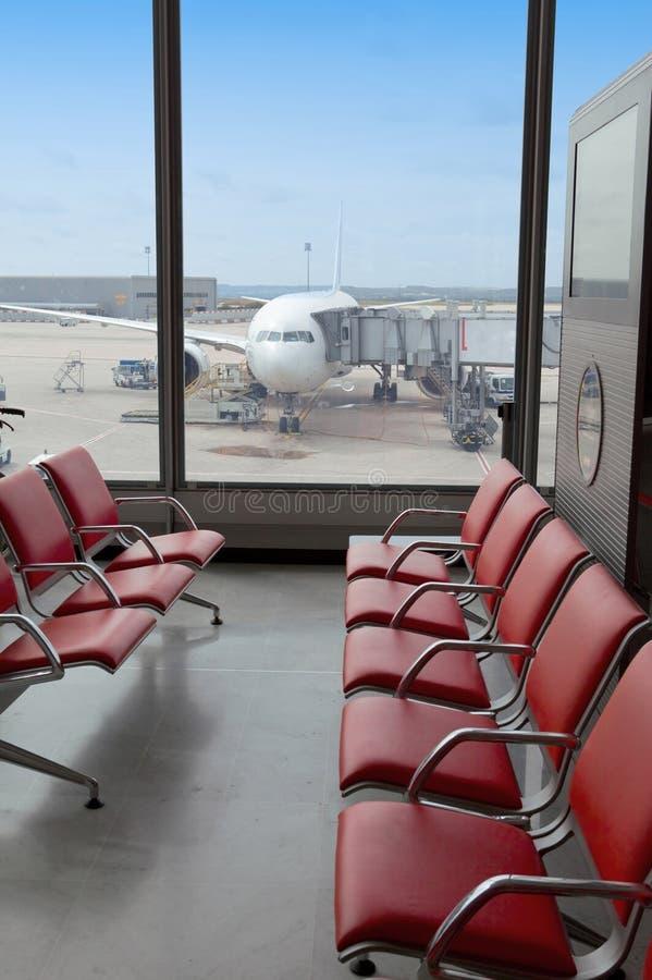 Flughafen. lizenzfreies stockfoto