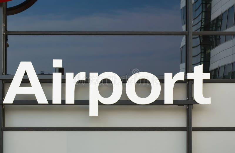Flughafen stockbild