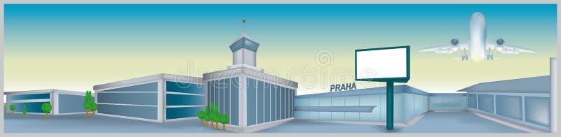 Flughafen lizenzfreie abbildung