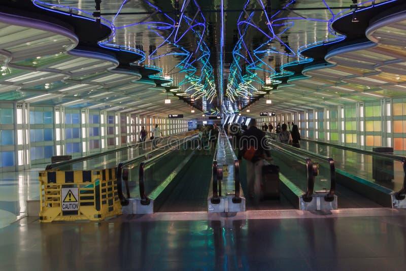 Flughafen Chicagos OHare stockbilder