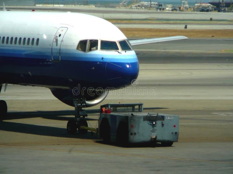 Flughafen-Grundbesatzung stockfoto