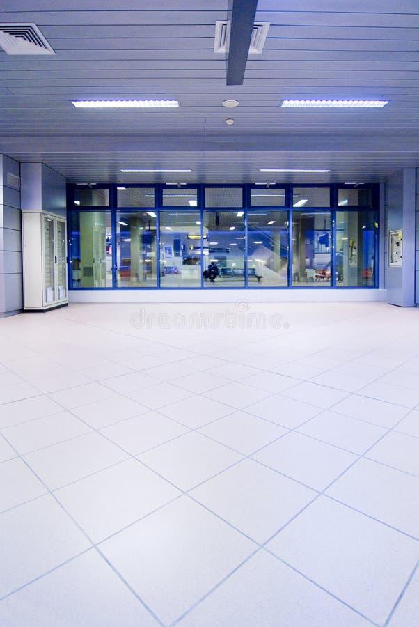 Flughafen Hall lizenzfreies stockbild