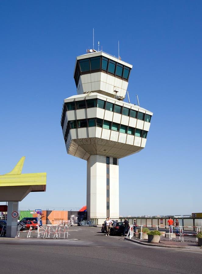 Flughafen-Kontrollturm 2 stockfoto