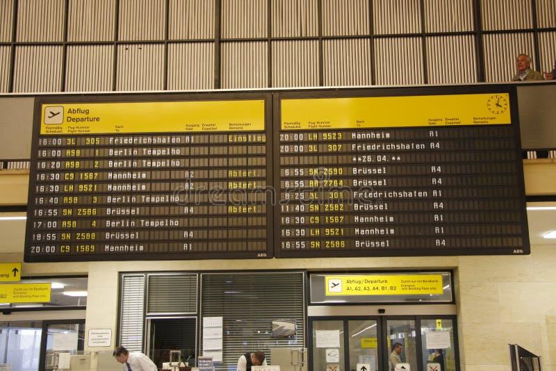 Flughafen le Tempelhof (aéroport du Tempelhof) photos stock