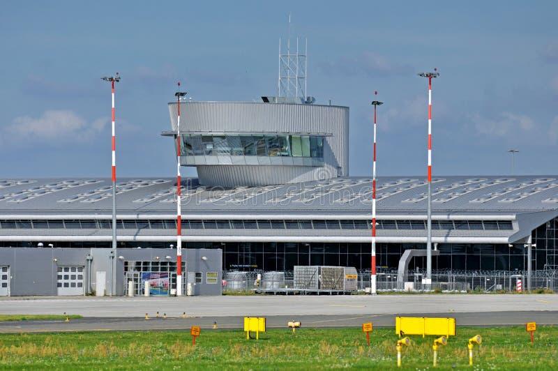 Flughafen Lodz, Polen lizenzfreies stockfoto