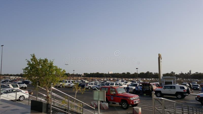 Flughafen-Parken lizenzfreie stockfotos