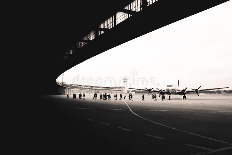 Flughafen Tempelhof obrazy stock