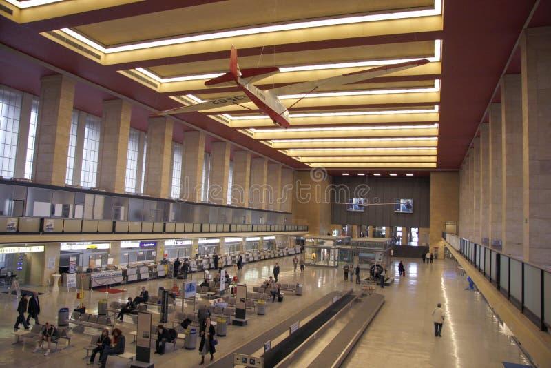 Flughafen Tempelhof (Tempelhof airport) royalty free stock photos