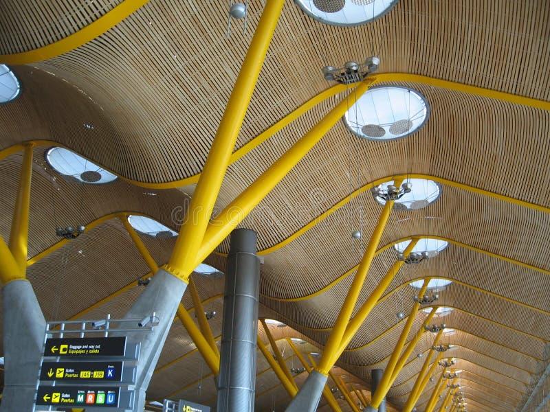Flughafen von Madrid stockfotos