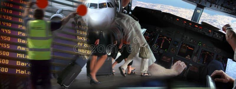 Flughafenambiente lizenzfreies stockfoto