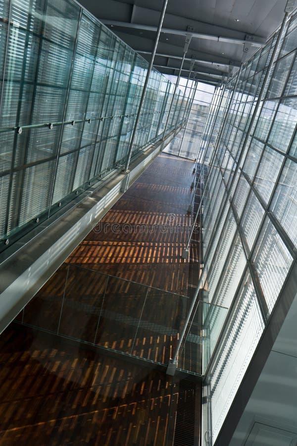 Flughafenflur lizenzfreie stockfotografie