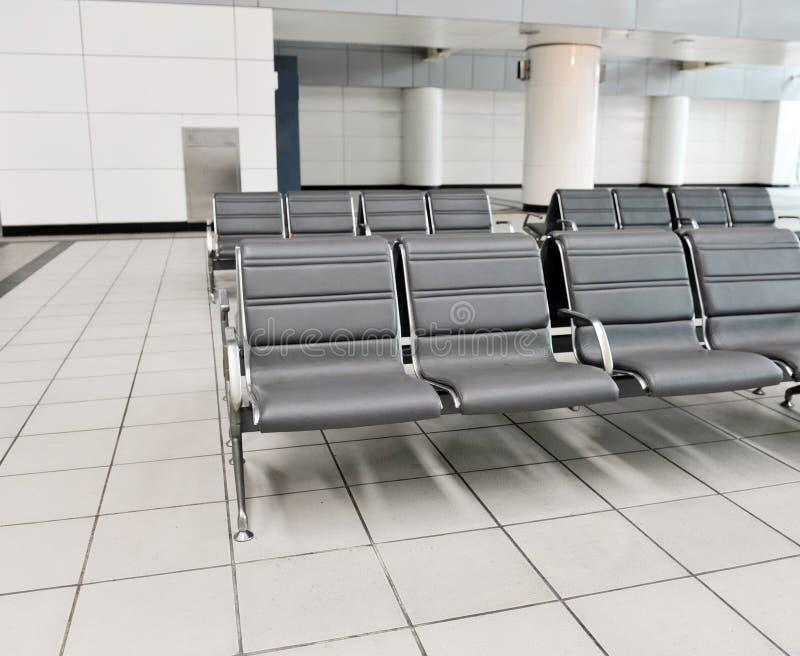 Flughafenlagerung stockbild