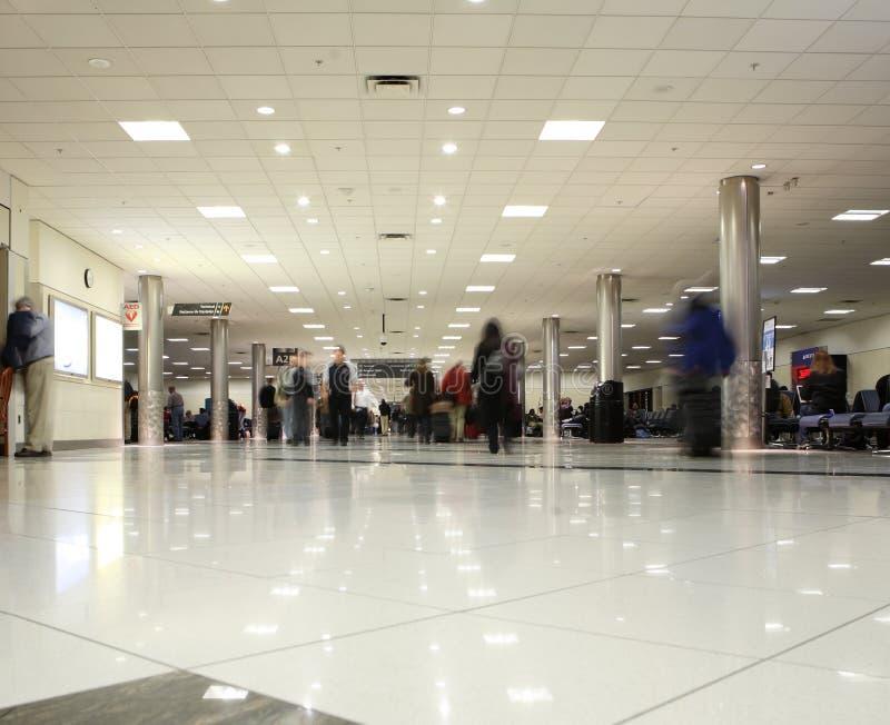 Flughafenzusammentreffen lizenzfreie stockfotos