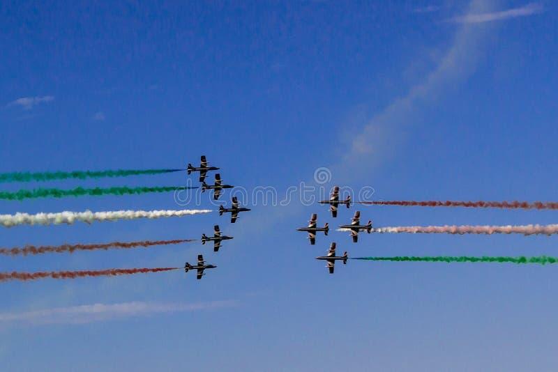 Flugor Italien arkivfoton