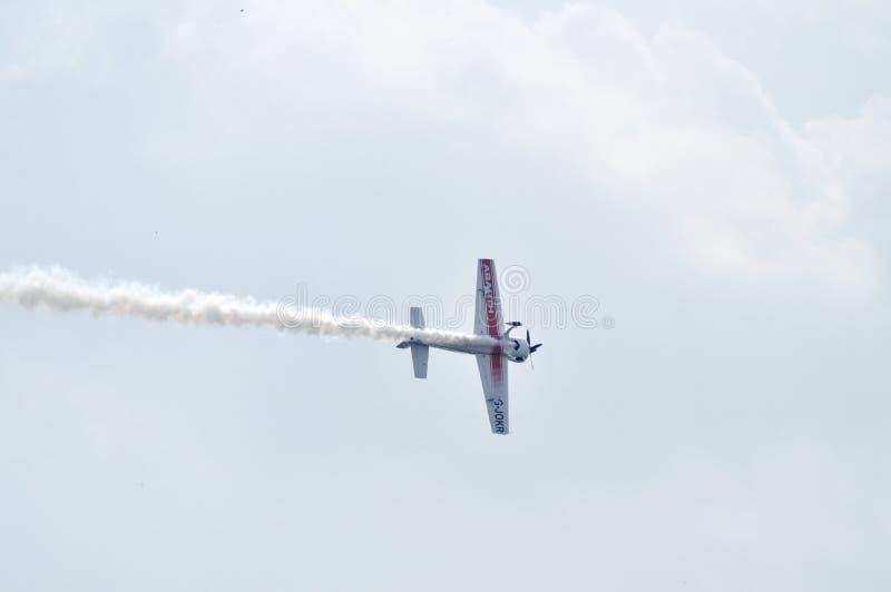 Flugschau in Ahmedabad, Indien lizenzfreie stockfotografie