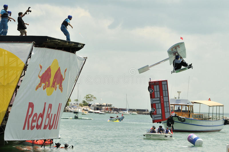 FLUGTAG COMPETITION IN ISTANBUL stock photo