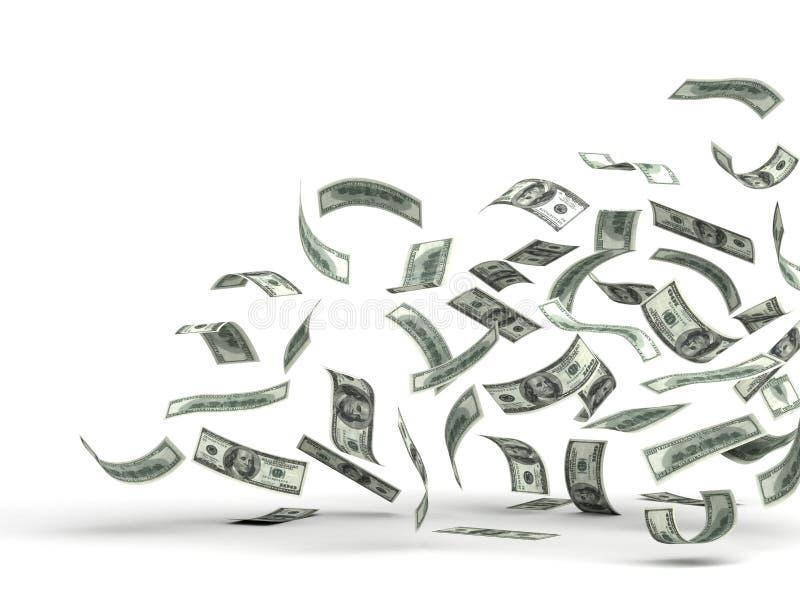 Flugwesen-Geld (Dollar) stock abbildung