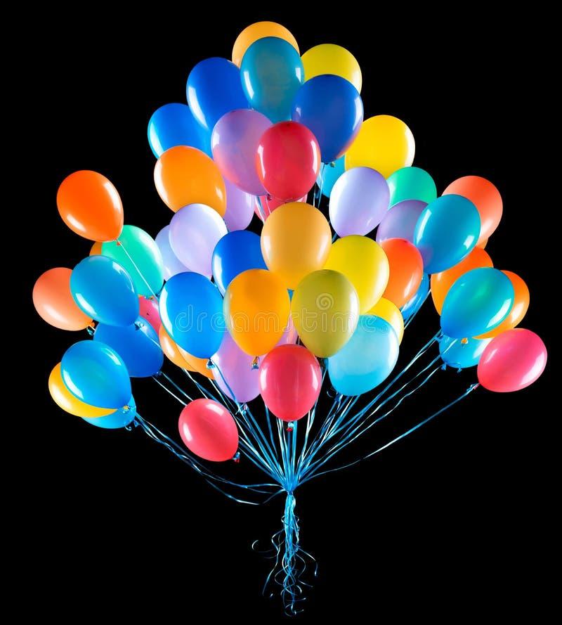 Flugwesenballone trennten stockfotos