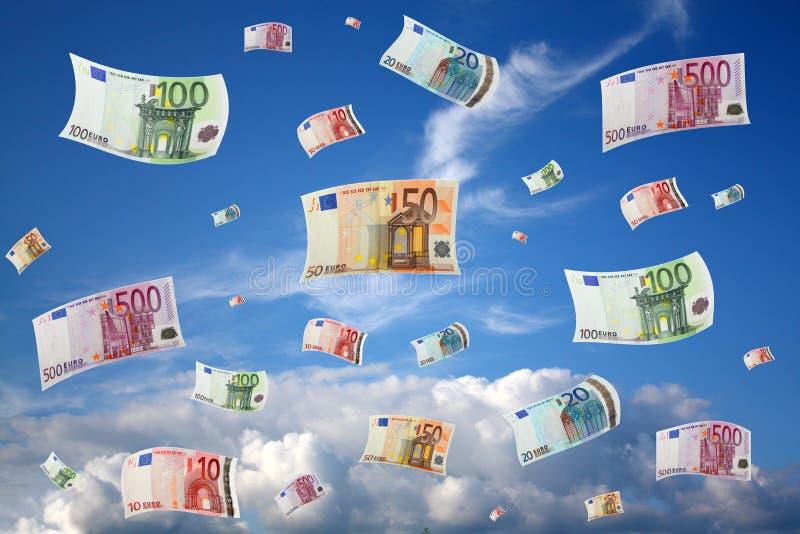 Flugweseneuro lizenzfreie stockfotos
