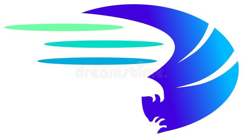 Flugwesenvogel lizenzfreie abbildung