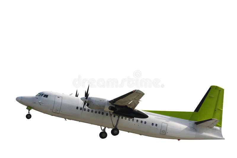 Flugzeug lizenzfreie stockfotos