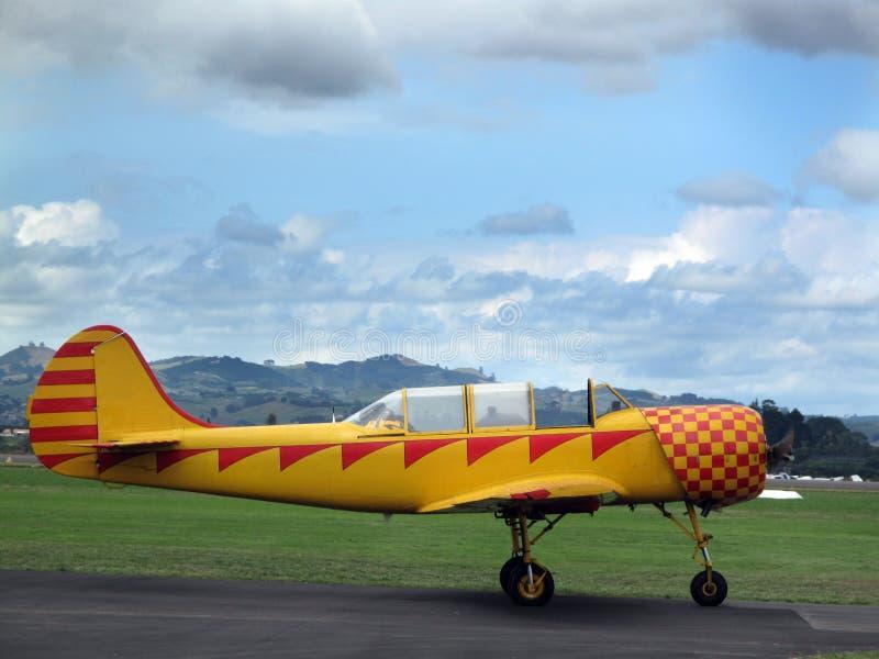 Flugzeug Harvard stockfotos
