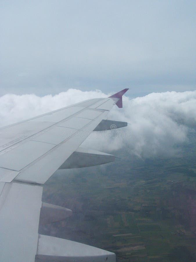 Flugzeug-Himmel stockbilder