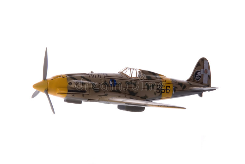 Flugzeug-Kämpfer stockbilder