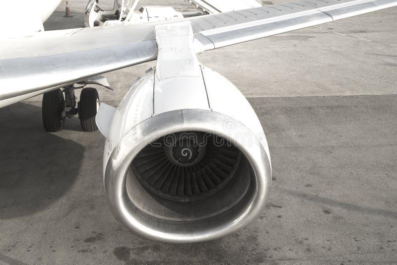 Flugzeug-Maschine lizenzfreie stockbilder
