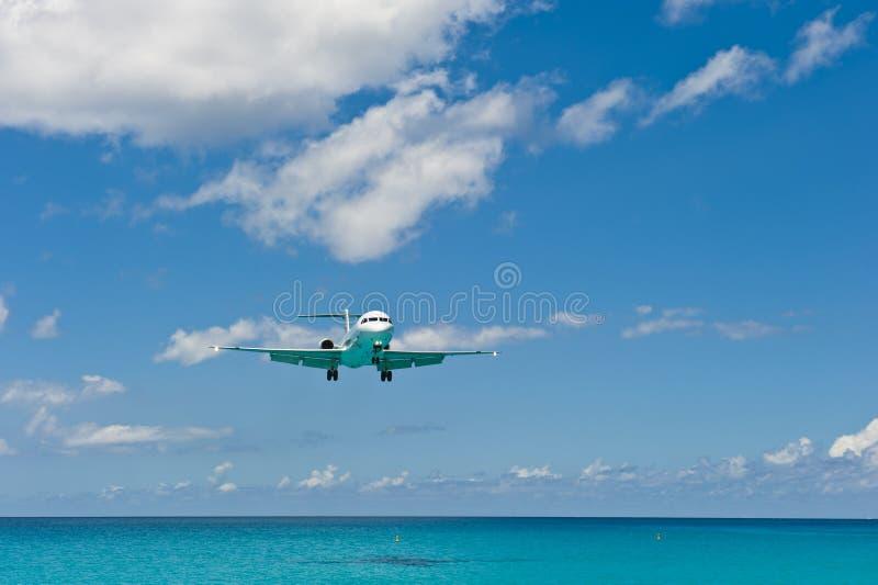 Flugzeug-Wasser lizenzfreies stockfoto