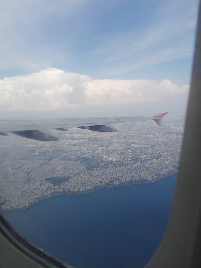 Flugzeugansicht stockfotografie