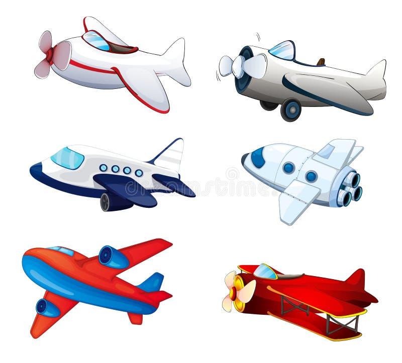 Flugzeuge lizenzfreie abbildung