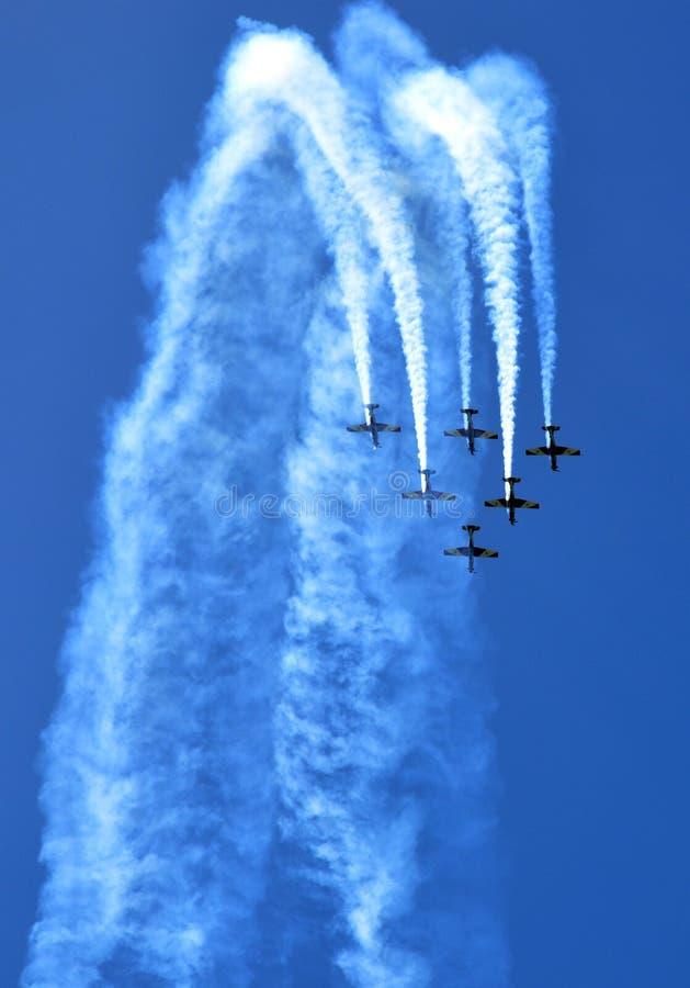 Flugzeuge. stockfotografie