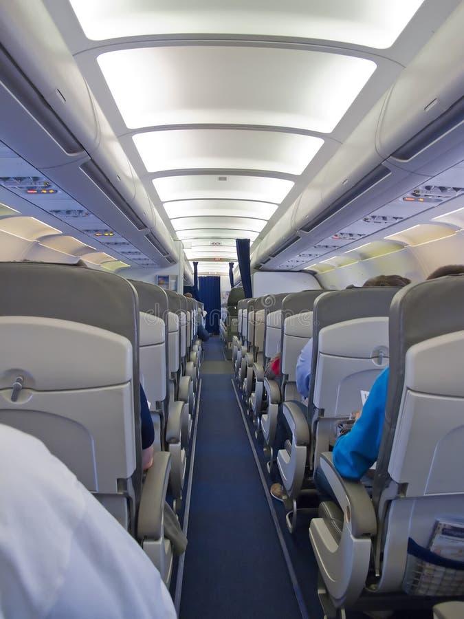 Flugzeuge cabine lizenzfreie stockfotos