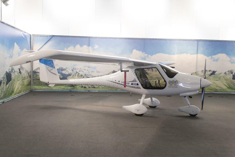 Flugzeuge des pipistrel-Virus 912 stockbilder
